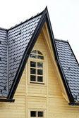Window in roof — Stock Photo