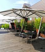 Giardino sul tetto — Foto Stock