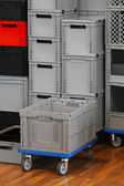Commercial crate box — Stock Photo