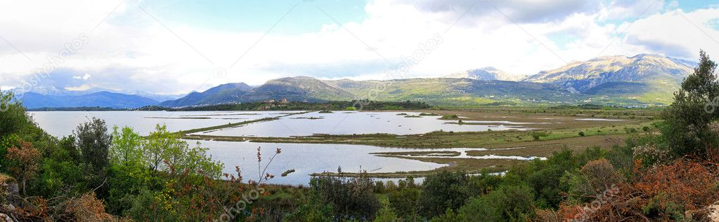 Solila special birds reserve and nature protected area — Stock Photo #9597540