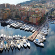 Fontvieille harbour Monaco - Stock Photo