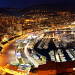 Monaco at night — Stock Photo