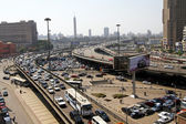 Cairo flyover — Stock Photo