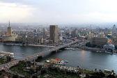 6. října most káhira — Stock fotografie