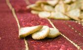 Crackers biscuits — Stock Photo