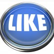 Like Blue Button Approval or Positive Review - Photo
