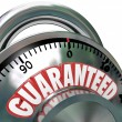 Guaranteed Combination Lock Promise Assurance — Stock Photo #10478665