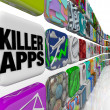 Killer Apps Store of Applications Software to Buy Download - Стоковая фотография