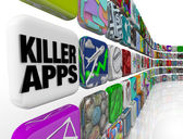 Killer Apps Store of Applications Software to Buy Download — Stock Photo