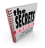 The Secrets Book of Revealed Information and Knowledge — Stock Photo