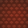 Heraldic Seamless Wallpapers — Stock Photo