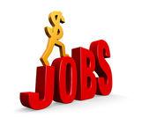 Job Growth — Stock Photo