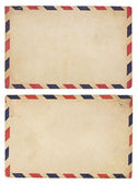 Vintage havayolu zarf — Stok fotoğraf