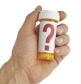 薬についての質問 — ストック写真