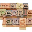 Make laugh — Stock Photo #10157181