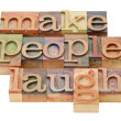 Make laugh — Stock Photo