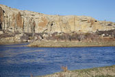 North Platte River in Wyoming — Stock Photo
