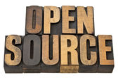 Open source - software concept — Stock Photo