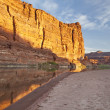 Stock Photo: Colorado River in Canyonlands