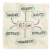 Risk management strategy — Stock Photo