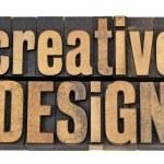 Creative design in wood type — Stock Photo #10669247