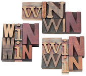 Win-win strategy or compromise — Stock Photo