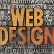 design web — Foto Stock