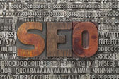 Seo - search engine optimization — Stock Photo