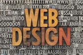 Design web — Foto Stock