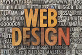 Web design — Stockfoto