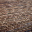 Weathered wooden deck — Stock Photo