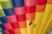 Hot air balloon with Colorado flag — Stock Photo