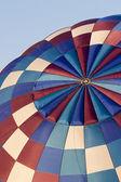Hot air balloon abstract — Stock Photo