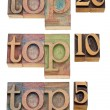 Stock Photo: Top 20, 10, 5