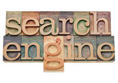 Search engine - internet concept — Stock Photo