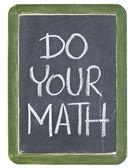 Faites votre calcul — Photo
