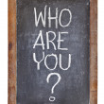 Kdo jsou ty otázky — Stock fotografie
