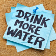 Drink more water - hydration concept — Stock Photo