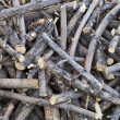 Stock Photo: Pile of sticks