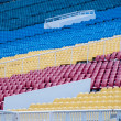 Colourful tribunes — Stock Photo