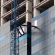 Stock Photo: High rise construction site