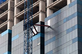 High rise construction site — Stock fotografie