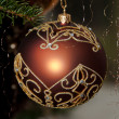 Decorative Christmas Balls — Stock Photo #8261440