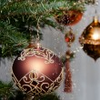 Decorative Christmas Balls — Stok fotoğraf