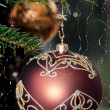 Decorative Christmas Balls — Foto de stock #8264815