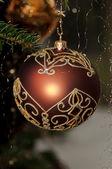 Decorative Christmas Balls — Stock Photo