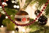 STUTTGART - JANUARY 6: FC St. Pauli Christmas ball — Stock Photo