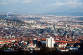 View on Stuttgart from Birkenkopf — Stock Photo