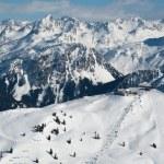 Beautiful Winter Mountain Panorama — Stock Photo