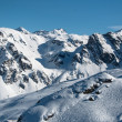 Stock Photo: Beautiful Winter Mountain Panorama